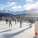 Pista de patinaje sobre hielo en Ushuaia - Renta de autos